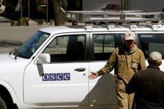 Наблюдатели ОБСЕ попали под обстрел в Луганской области
