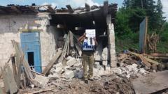 В штабе ООС показали последствия обстрелов Зайцево