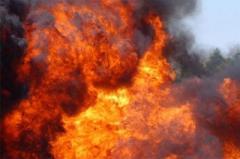 В центре Донецка взорвалась маршрутка