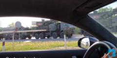 В Горловке местные жители продолжают наблюдать движение танков, прибывших из РФ
