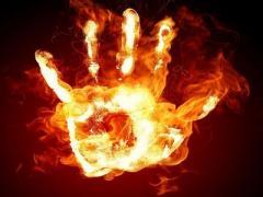 Донбасс: человек погиб в огне