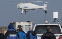 На Донбассе обстреляли беспилотник наблюдателей