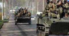 Очевидцы сообщают о массовом движении техники боевиков в Горловке