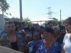 "Протест у КПВВ ""Майорск"": подробности от СММ ОБСЕ"