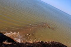 Появились фото «курорта ДНР» Седово – пустые пляжи, грязная вода