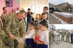 В Красногоровку прибыла помощь