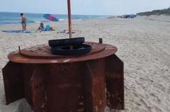 Таинственный объект обнаружен на пляже в Северной Каролине
