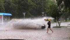 Украину накроет дождями с градом и шквалами