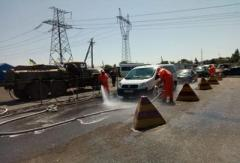 В Донецкой области прошли учения по ликвидации радиационного загрязнения