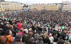 Сбросьте Трампа: в Хельсинки вспыхнул бунт против встречи президента США с Путиным