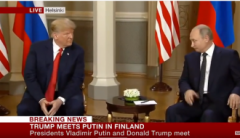 В столице Финляндии началась встреча Трампа и Путина