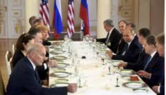 Трамп и Путин завершили встречу тет-а-тет