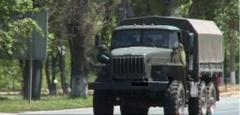 В Донецке появились новые тентованные грузовики боевиков «ДНР»