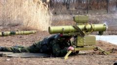 """Оккупанты будут потеть от слова """"Стугна"""": украинские военные протестировали ракетный комплекс. ВИДЕО"""
