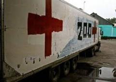 Замечен автомобиль «похоронных услуг» пересекающий границу с РФ