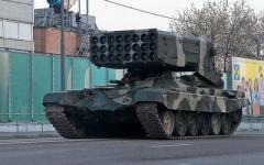 Боевики «ЛНР» размещают тяжелое вооружение в центре городов