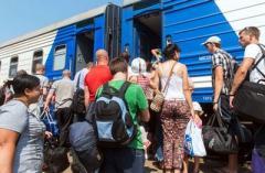 Украина переживает масштабный кризис с переселенцами