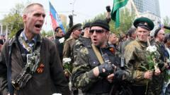 В Горловке наблюдается большое движение боевиков