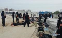 Полицейские задержали десятки титушек, прибывших в столицу для участия в рейдерских захватах