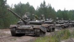 Боевики «ЛНР» стягивают большое количество танков и артиллерии