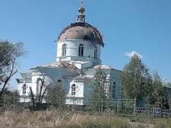 В поселке под Донецком были обстреляны церковь и дома