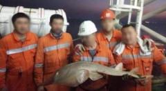 В Каспийском море выловили неизвестное существо