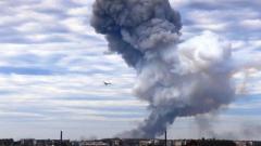Жители оккупированного Донецка сообщают о мощном взрыве в районе мединститута