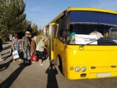 Для жителей прифронтового Бердянского запустили бесплатный автобус на Мариуполь