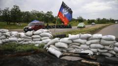 Донецк: отменены все автобусы, блокпосты закрыты
