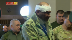 """""""Ташкент"""" выжил после взрыва Захарченко в Донецке и пришел на похороны: фото боевика потрясло Сеть"""