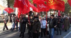 «Хотим жить, а не выживать»: компартия в аннексированном Крыму провела митинг против пенсионной реформы