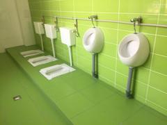 Розвісили кришталеві люстри, але «зекономили» на туалетних кімнатах.  У Маріуполі на відкритті відремонтованого технічного ліцею відбувся казус