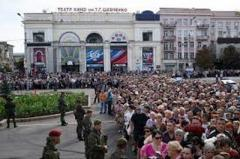 Наблюдатели СММ ОБСЕ развенчали миф о количестве народа на похоронах Захарченко