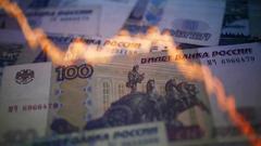 Российский рубль обвалился до нового минимума