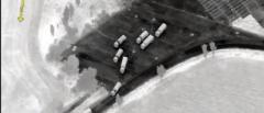 Российские колонны грузовиков пересекли границу в сторону Украины