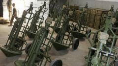 У Порошенко назвали причину взрыва миномета «Молот»