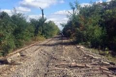 В Ясиноватском районе злоумышленники разбирали и воровали железнодорожные рельсы