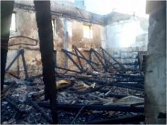 Появились подробности пожара в Донецком горном техникуме