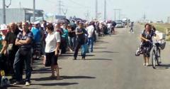 Сколько времени занимает пересечение линии разграничения на Донбассе