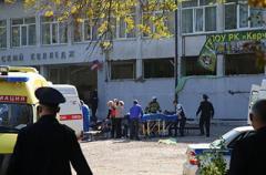 Появилось страшное ВИДЕО момента стрельбы в Керчи