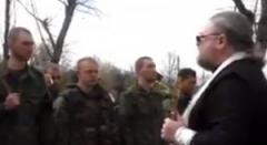 """Священник РПЦ оскорбил Украину и обратился к российским боевикам: """"Идите, братья, войной на этих бесов"""""""