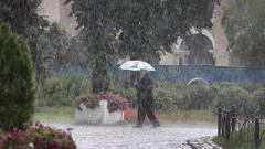 В Украину идут холода и дожди