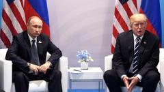 Путин предложил встретиться с Трампом в Париже 11 ноября