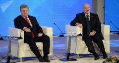 Лукашенко предложил Порошенко помочь решить конфликт на Донбассе, начатый Россией