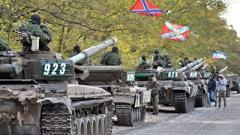 Готовятся к «выборам». НВФ стягивают в Донецк танки и артиллерию