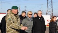 Денисова рассказала о проблемах на КПВВ «Майорск»