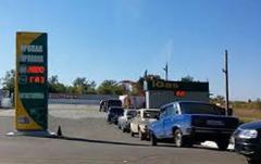 В Горловке автовладельцы жалуются на очень плохое качество пропана