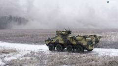 В Украине создали БТР из натовской стали