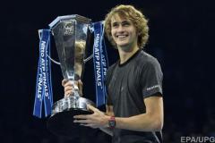 Александр Зверев сенсационно выиграл Итоговый турнир по теннису