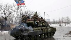 НВФ стягивают к линии фронта большое число военной техники